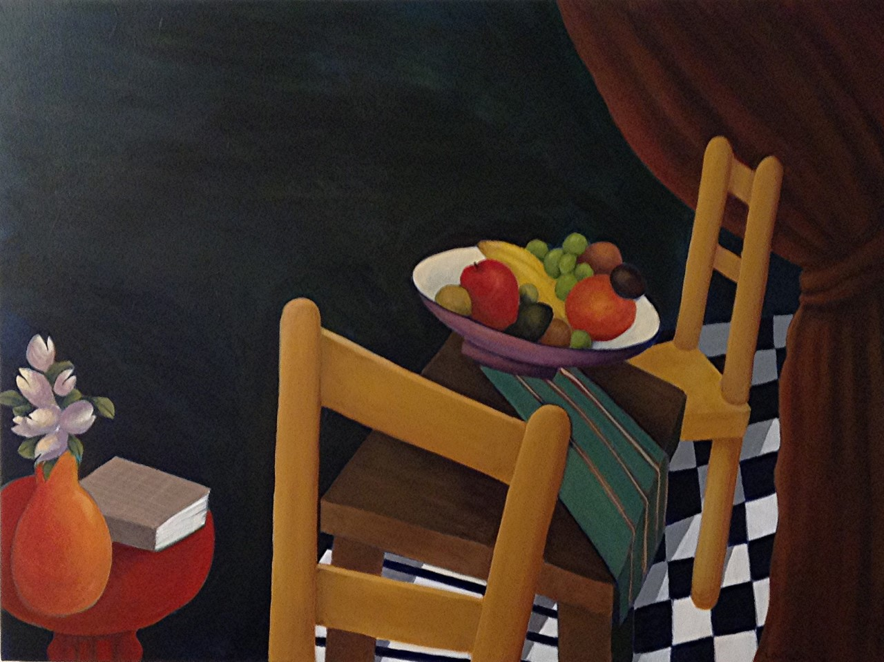 thumbnail_At Table with Fruit II